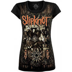 Туника Slipknot (new masks), Размер S