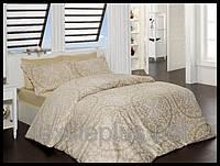 Постельное белье First choice сатин семейный размер Vanessa golden (kod 3937)