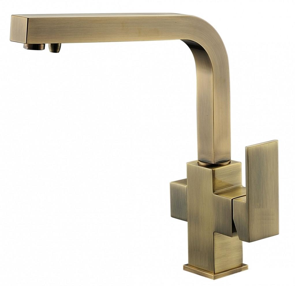 Смеситель с подключением фильтрованной воды 2 в 1 Kaiser Sonat 34044-3 Bronze