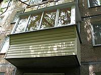 Балкон под ключ 3000*1400*800