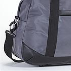 Дорожная сумка Dolly 776 три расцветки 50 см. - 27 см. - 37 см. Серый, фото 3