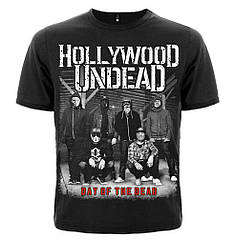 """Футболка Hollywood Undead """"Day Of The Dead"""", Размер S"""