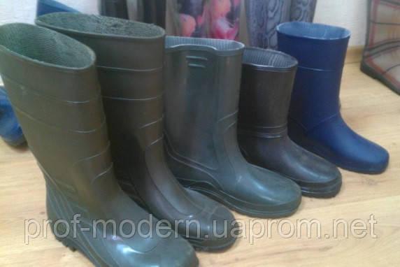 Резиновая обувь, САПОГИ резиновые - Проф-Модерн в Киеве
