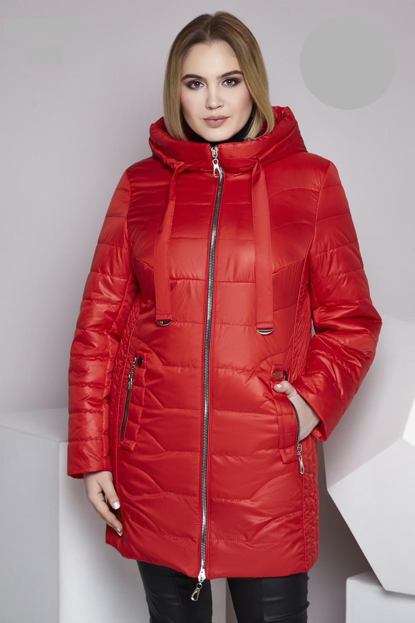 Жіноча демісезонна куртка з 50 по 66 розмір 8цветов
