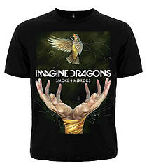 "Футболка Imagine Dragons ""Smoke+Mirrors"", Размер XXL"