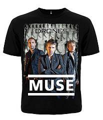 """Футболка Muse """"Drones"""", Размер M"""