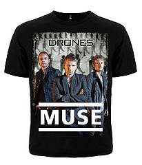 "Футболка Muse ""Drones"", Размер L"