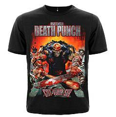 "Футболка Five Finger Death Punch ""Got Your Six"", Размер S"