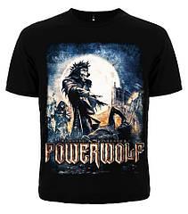 """Черная футболка Powerwolf """"Blessed & Possessed"""", Размер L"""