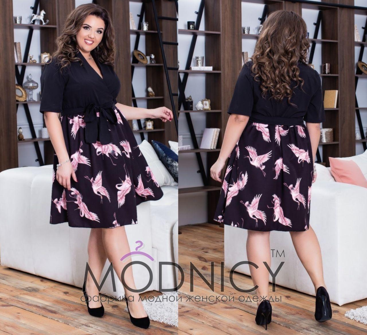 7c29c1c41c9 Платье Журавли 35557  Интернет-магазин модной женской одежды оптом и ...