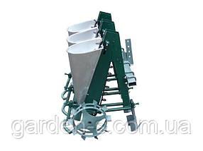 """Сажалка для чеснока 3-рядная """"Ярило"""" с бункером для удобрений (для мотоблока и мототрактора), фото 2"""