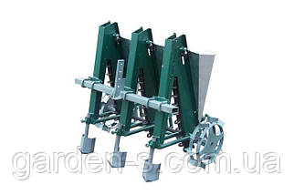 """Сажалка для чеснока 3-рядная """"Ярило"""" с бункером для удобрений (для мотоблока и мототрактора), фото 3"""