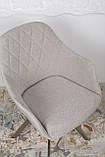 Кресло поворотное Almeria, бежевый, фото 8