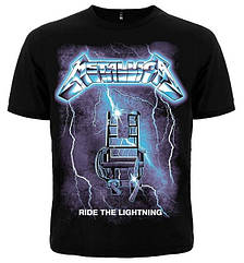"Футболка Metallica ""Ride The Lightning"", Размер XL"