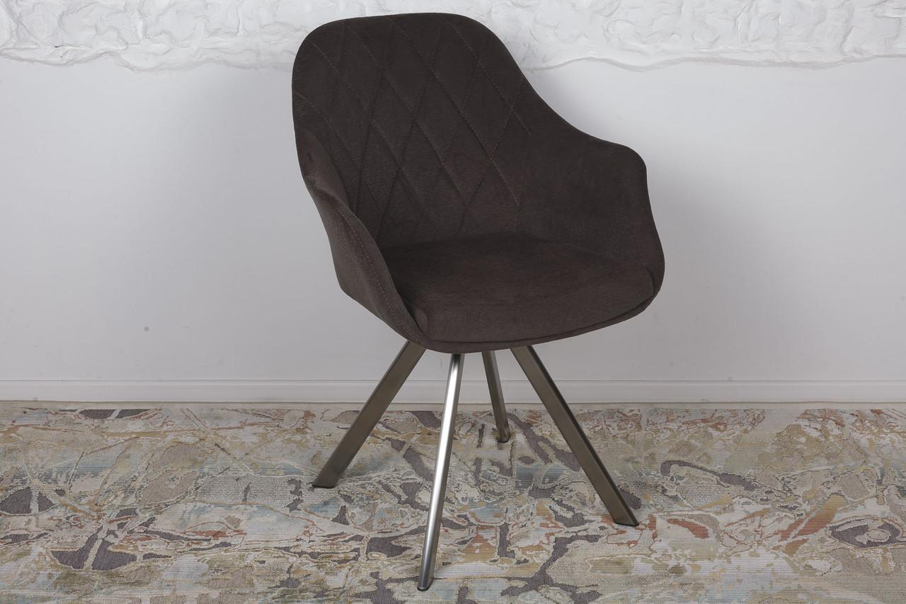 Крісло поворотне Almeria, коричневий
