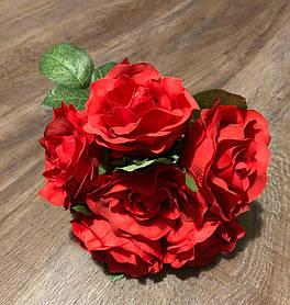 Букет дублер на свадьбу ''Роза красная ''