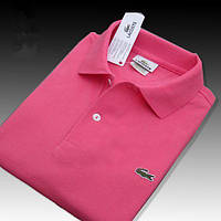 Lacoste 100% хлопок РАЗНЫЕ цвета мужская, женская футболка поло лакоста, фото 1