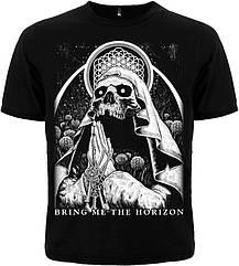 """Черная футболка Bring Me The Horizon """"Sempiternal"""", Размер M"""