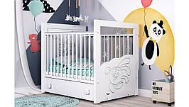 """Дитяче ліжечко Піноккіо """"Смішарік"""""""