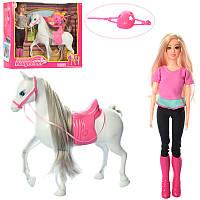 Кукла шарнирная, с конем