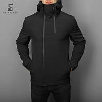 Демисезонная мужская куртка Pobedov Jacket Pyatnitsa черная