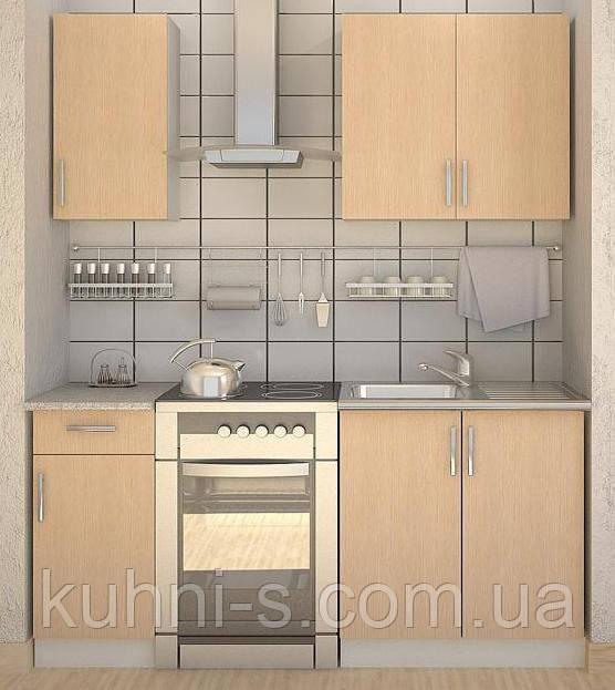 Кухни - фасад дуб светлый
