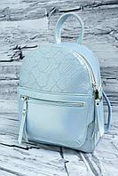 Сумка-рюкзак из натуральной кожи A-226 flash blue