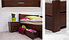 """Двуспальная кровать """"Айрис"""" с ящиками, фото 2"""
