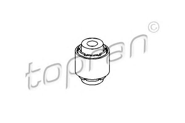 Сайленблок зад. VW Golf 5/Golf 6/B-6/Touran/Tiguan SK Octavia A5/SuperB верх. - сайлент. внутри (x2)