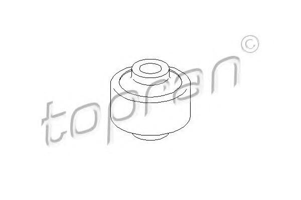 Сайленблок пер. Audi 100/A6 (91-97) бочонки (x2)