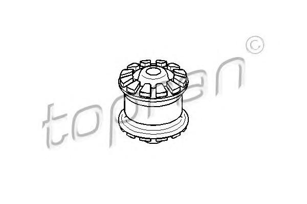 Сайленблок пер. Audi 80 (82>) VW Pointer без гидроусил. ромашка (x4)