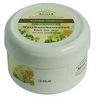 """Крем для лица """"Мультивитамин"""" для всех типов кожи, 200мл Эльфа - """"Зеленая аптека"""""""