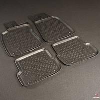 Коврики в салон Audi A4 (B6:8E\ B7:8E) (2001-2007) (Ауди А4) (4 шт), NORPLAST