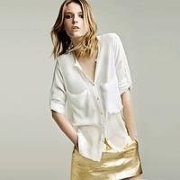 Шифоновая блуза женская