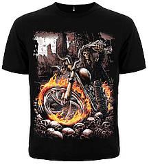 Футболка Deathrider (смерть на мотоцикле), Размер M