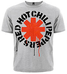 Футболка Red Hot Chili Peppers (меланж), Размер S