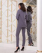 """Деловой женский костюм в полоску """"Polaire"""" с пиджаком (2 цвета), фото 2"""