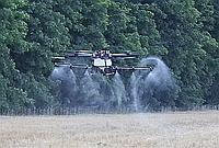 Внесение СЗР дронами