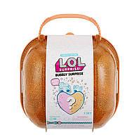 LOL BUBBLY SURPRISE™ (шипучий сюрприз) чемоданчик оранжевый, фото 1