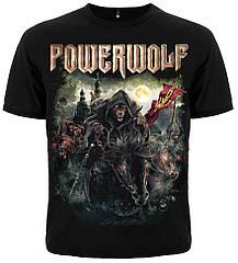 """Футболка Powerwolf """"The Metal Mass"""", Размер XL"""