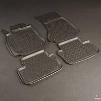 Коврики в салон Audi A4 (B8:8K) (2007) (Ауди А4) (4 шт), NORPLAST