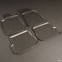 Коврики в салон Audi A6 (4F:C60) (2004-2011) (Ауди А6) (4 шт), NORPLAST