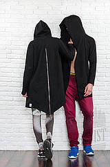 Мантия Urbanist черная с молнией, Размер XL