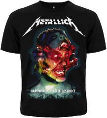 "Футболка Metallica ""Hardwired...To Self-Destruct"", Размер S"