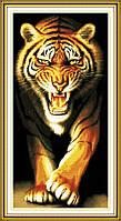 Набор для вышивки Идейка Нападающий тигр (ide_D076) 46 х 87 см
