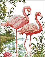 Набор для вышивки Идейка Фламинго (ide_D419) 42×51 см