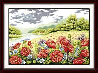 Набор для вышивания Идейка Дыхание лета (ide_F020) 75 х 54 см