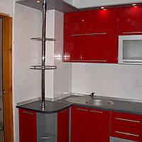 Кухня пластик угловая 1200х3000