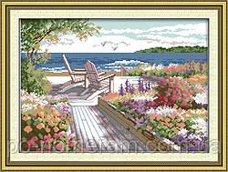 Набор для вышивания Идейка Курортный пейзаж (ide_F130) 46 х 35 см