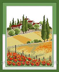 Набор для вышивки Идейка Сельские просторы (ide_F150) 42 х 34 см